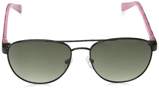 Cath Kidston Sunglasses Damen Sonnenbrille Ck700100156, Schwarz (Black), 56