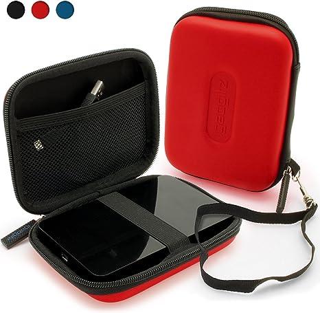 iGadgitz Red EVA Hard Travel Case Cover for Western: Amazon