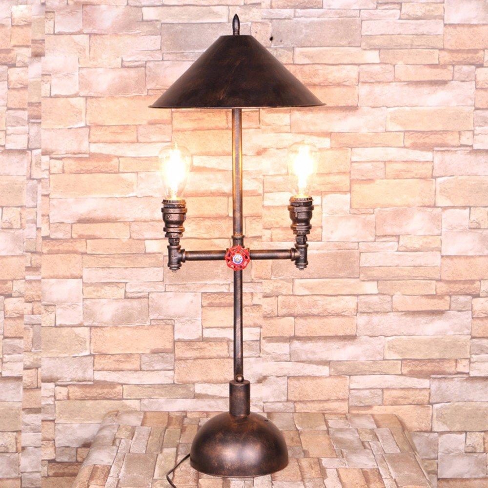 SJQKA-Iluminación creativa, vintage pipa de agua, sombrilla ...