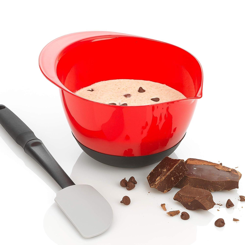 Multicolor GoodCook 20465 Good Cook 3 Piece Touch Non-Slip Mixing Bowl Set