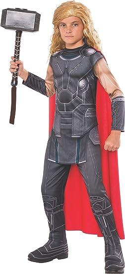 Avengers - Disfraz de Thor Ragnarok infantil, 3-4 años (RubieS ...
