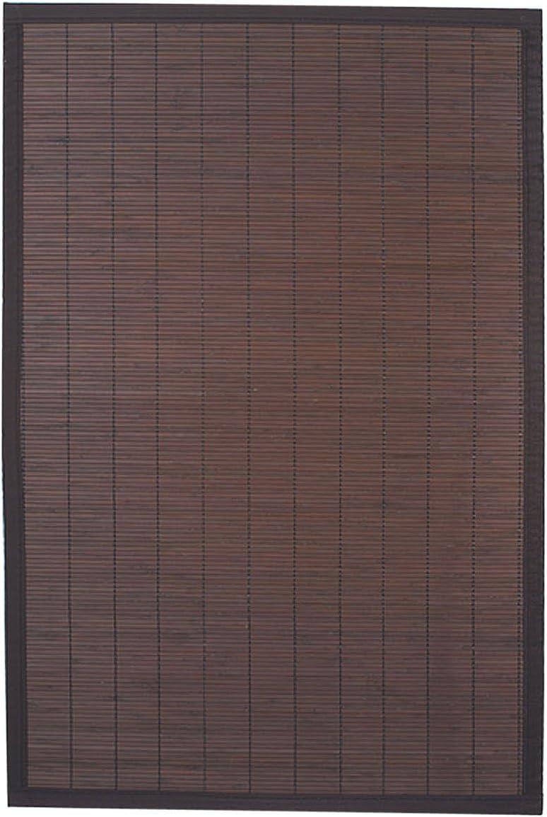 Colore: Marrone Scuro 100/% bamb/ù Ridder Beach 79513380-350 Tappetino in Legno 60x90 cm ca