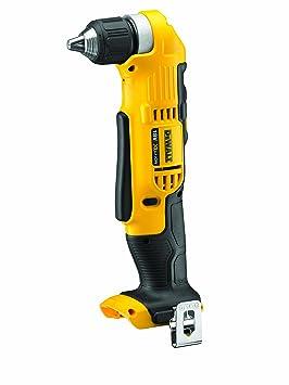 Dewalt DCD740N-XJ Taladro angular XR 18V 10 mm 33Nm sin cargador/batería, 360 W, 18 V, Negro y amarillo