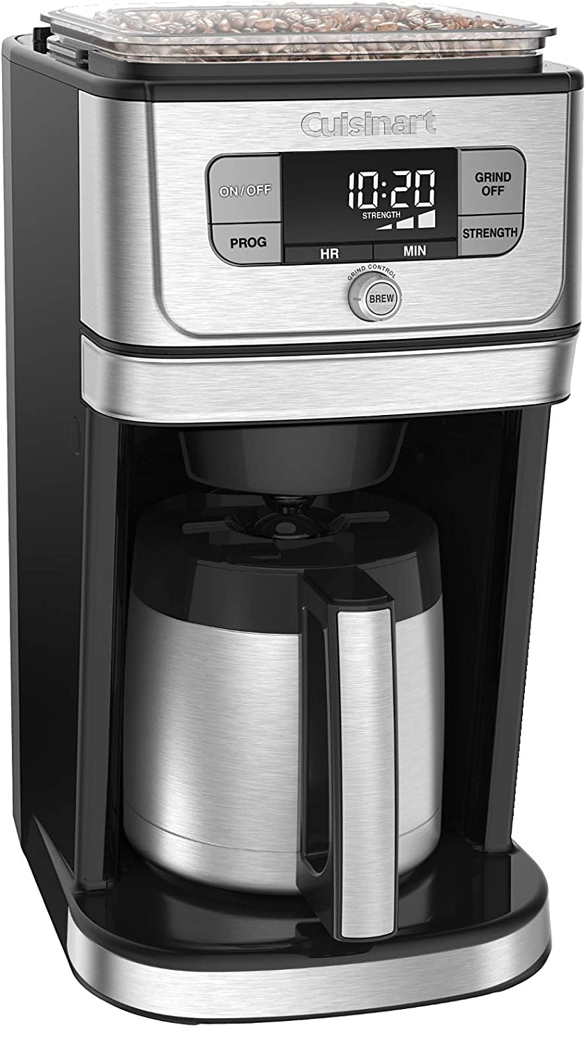 Cuisinart DGB-850 Fully Automatic Burr Grind & Brew Thermal coffeemaker 10 Cup Black