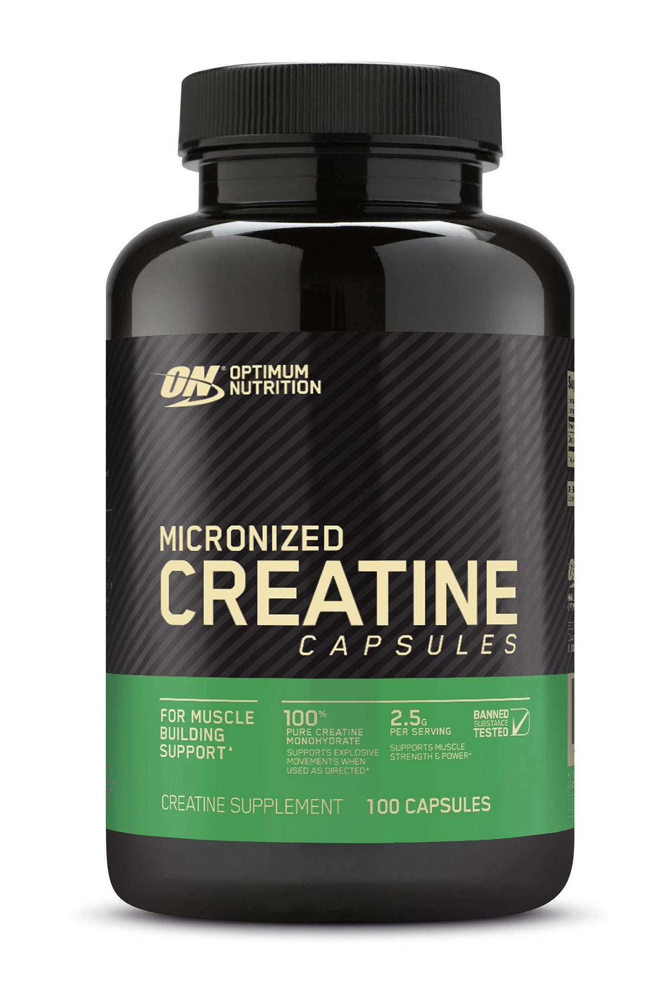 Optimum Nutrition Micronized Creatine Monohydrate Capsules