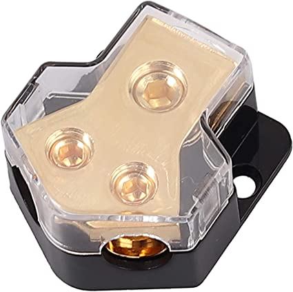 Esynic Verteilerblock 1 Eingang 0 2 4 Mit 2 Ausgängen 4 Elektronik