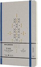 Cuaderno de tiempo Moleskine Limited Collection, grande, liso, azul, tapa dura (5 x 8,25)