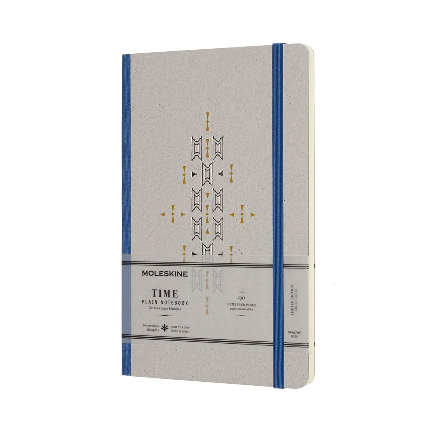 Moleskine Limited Collection Time Notebook, Large, Plain,...