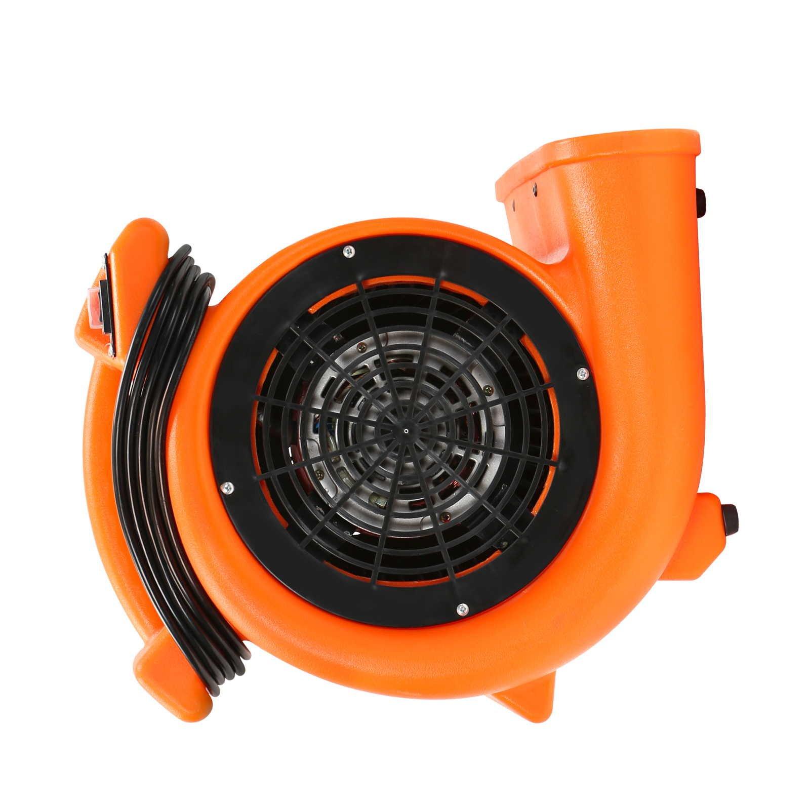 CFM Pro Air Mover Carpet Floor Dryer 2 Speed 1/2 HP Blower Fan - Orange - Industrial Water Flood Damage Restoration by CFM Pro (Image #4)