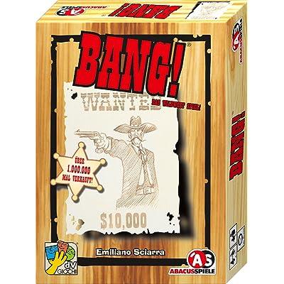 Abacus BANG! - Juego de tablero, idioma: alemán: Emiliano Sciarra: Juguetes y juegos