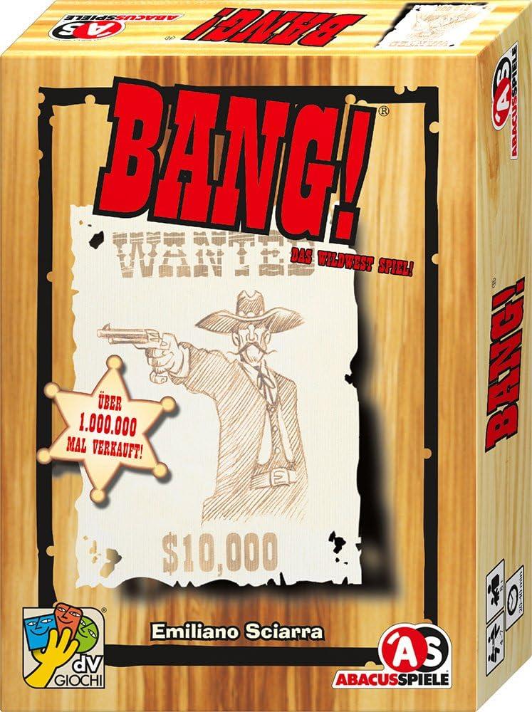 Abacus BANG! - Juego de tablero, idioma: alemán: Sciarra, Emiliano ...