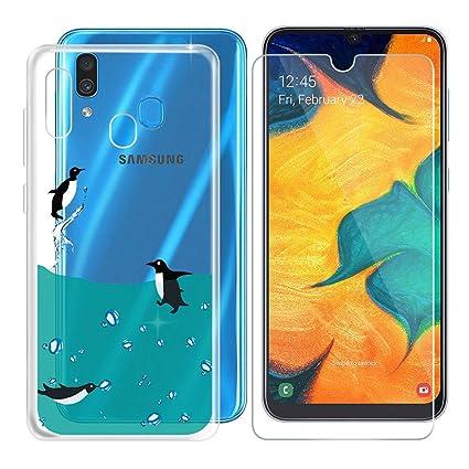 DYSu Funda para Samsung Galaxy A20 (6.40