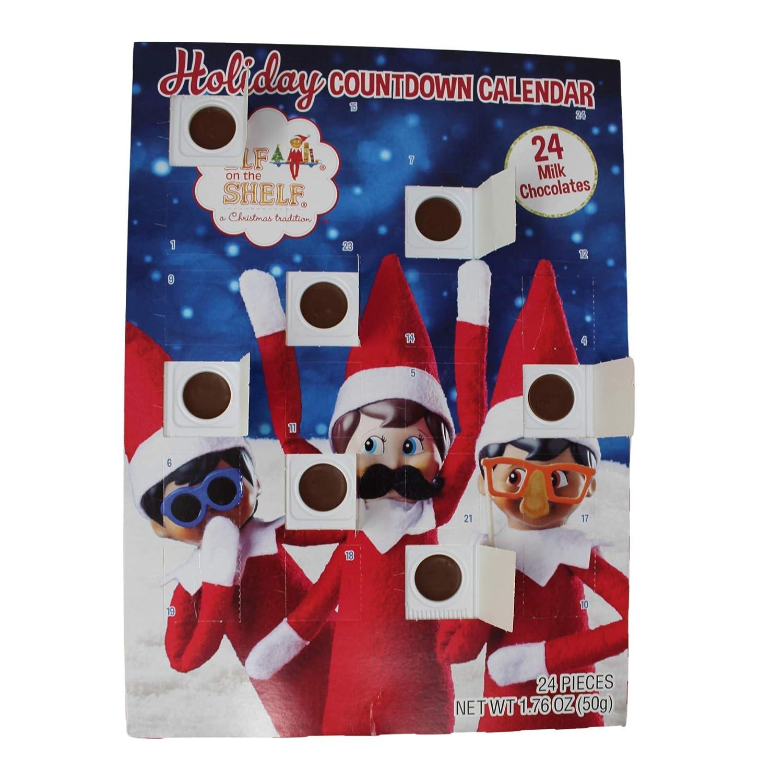 2016 Christmas Advent Holiday Countdown Calendar with 24 Milk Chocolates Disney Frozen