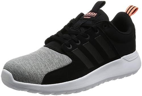 buy online 0ad9f 6d47f adidas Cloudfoam Lite Racer W Sneaker a Collo Basso Donna, Blu  (Onicla Negbas
