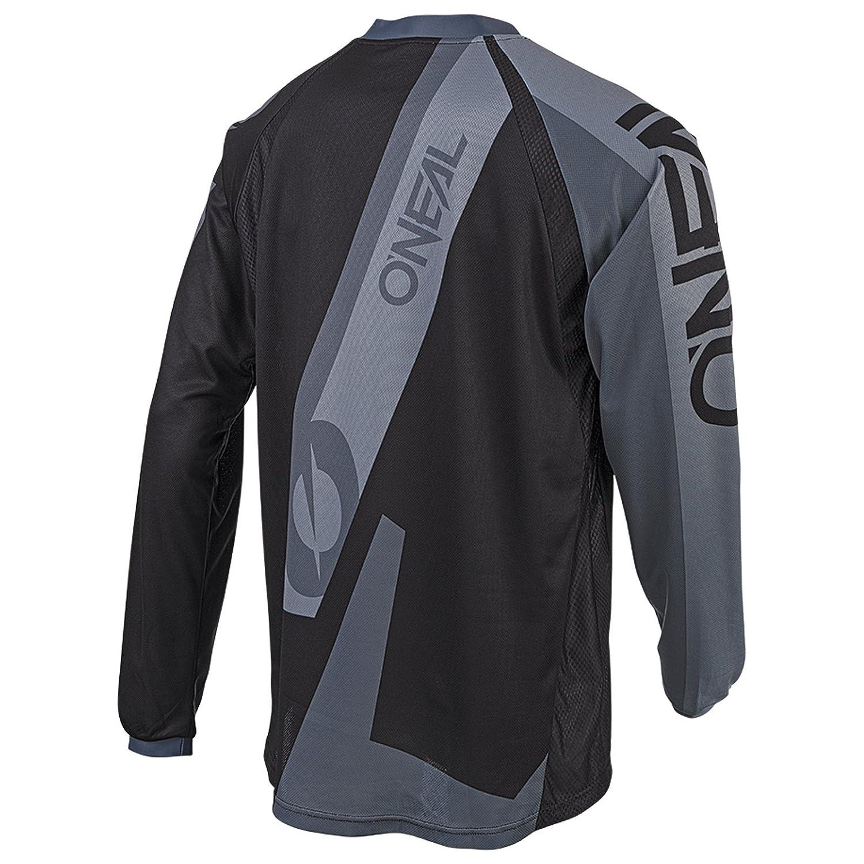ONeal Element Hybrid FR Jersey Trikot lang schwarz//grau 2019 Oneal