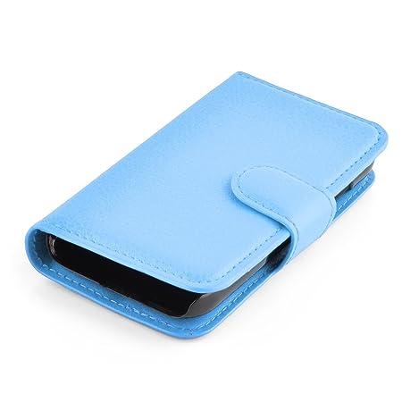 9dbed119e8c Cadorabo Funda Libro para Samsung Galaxy Young 2 en Azul Pastel: Amazon.es:  Electrónica