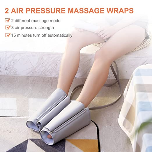 NURSAL Leg Air Massager Compression Leg Wrap
