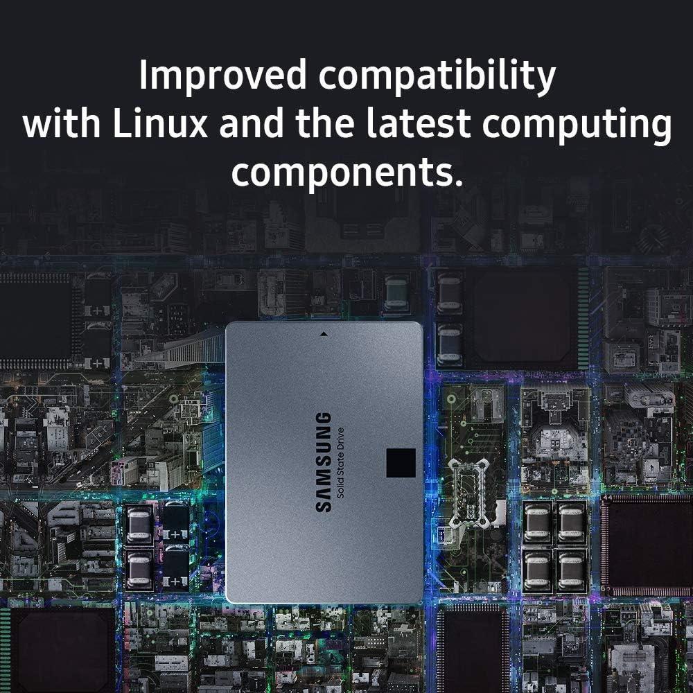 Samsung MZ-76Q1T0BW 860 QVO 1TB 2.5 SATA III SSD Components  SSD Solid State Drive :