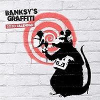 Banksy'S Graffiti 2020 Square Wall Calendar