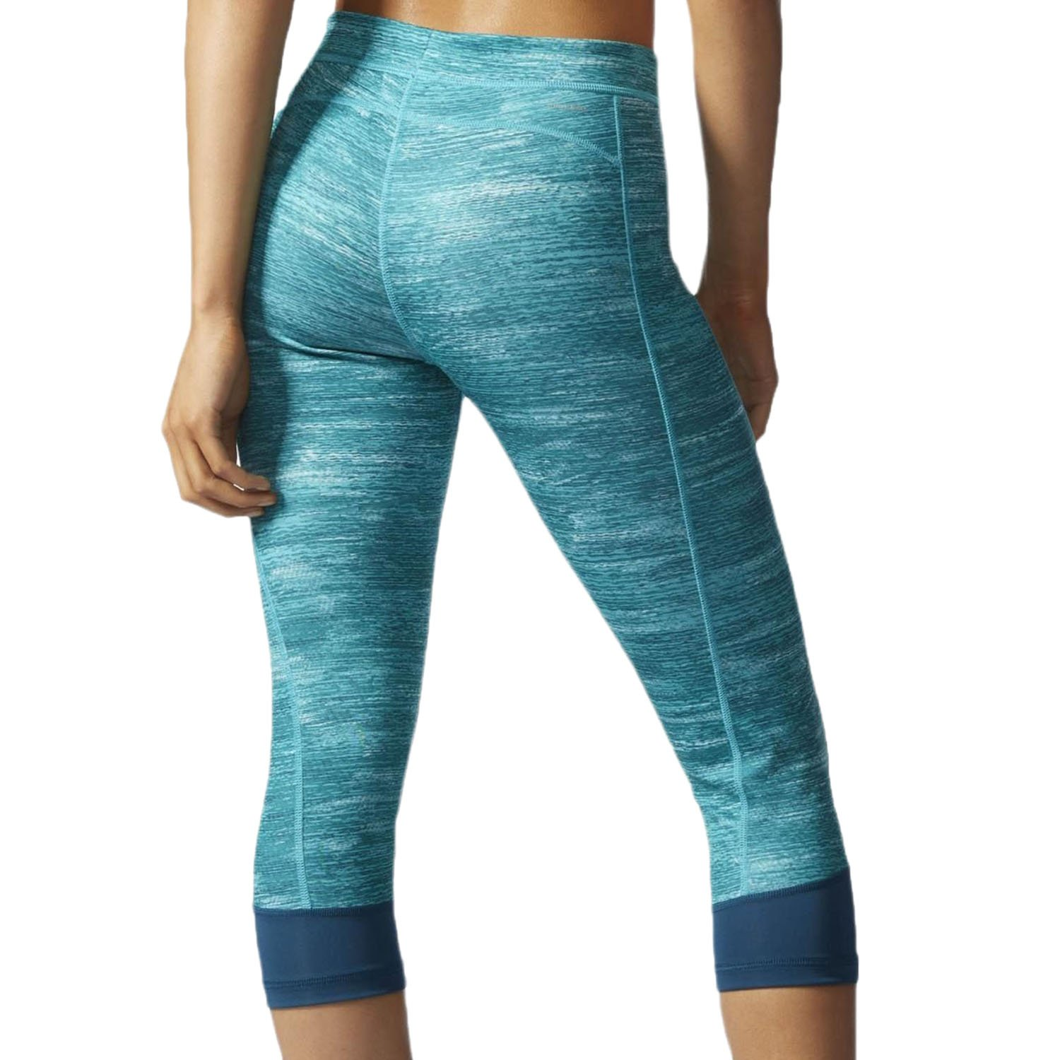 adidas Women's Techfit Capris, Mineral Heather, X-Small by adidas (Image #2)