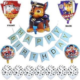 Paw Patrol Birthday Party Balloons