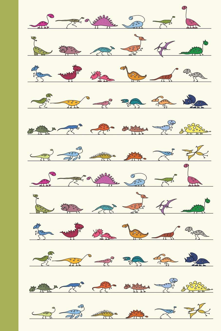 Download Sketch Journal: Baby Dinosaurs 6x9 - Pages are LINED ON THE BOTTOM THIRD with blank space on top (Baby Animals Sketch Journal Series) ebook