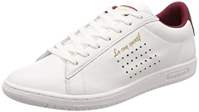 2b425579503 ... basket mode 132d8 fd3ae  promo code le coq sportif arthur ashe retro  homme chaussures blanc rouge dd52f 2c1b6
