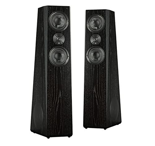 SVS Ultra Tower Flagship 3-Way Loudspeaker (Black Oak Pair)