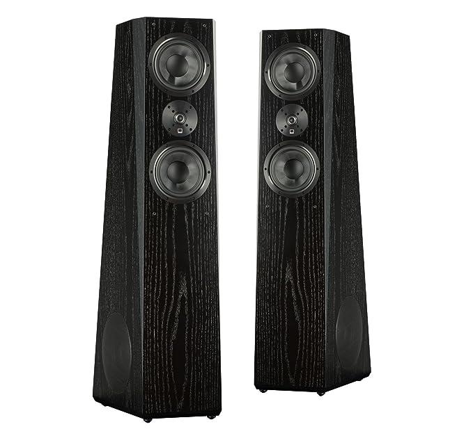 Amazon.com: SVS Ultra Tower Flagship 3-Way Loudspeaker (Black Oak Pair): Home Audio & Theater