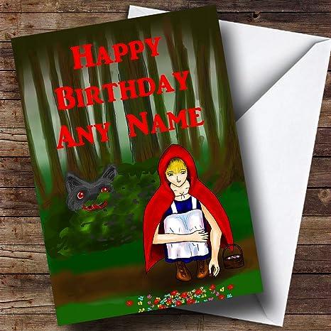 Amazon Com Personalizado Cumpleaños Tarjeta De Felicitación