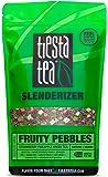 Tiesta Tea Slenderizer, Fruity Pebbles, Strawberry Pineapple Green Tea, Loose Leaf Tea Blend, Medium Caffeine, 1 Pound Bulk Bag