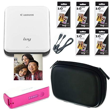 Amazon.com: Canon Ivy Bluetooth inalámbrico Mini impresora ...