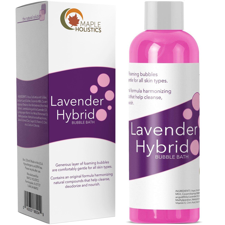 Amazon.com : Relaxing Bubble Bath for Sleep - Pure Lavender ...