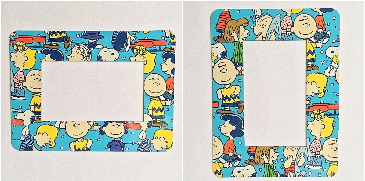 Charlie Brown Peanuts Photo Frame Refrigerator Magnet 2 x 3 1//2 Magnetic Snoopy