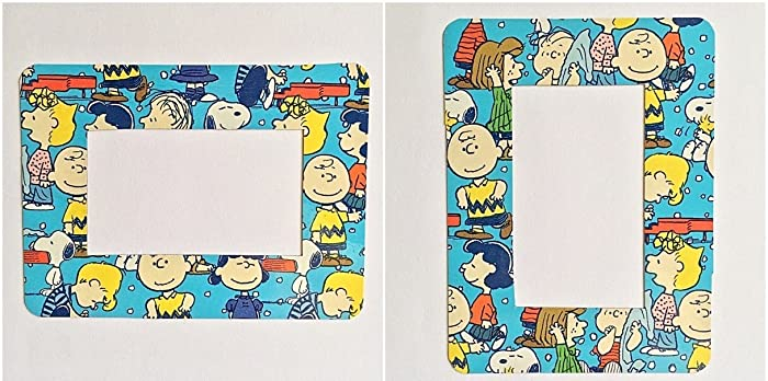7f0392bbe0 Amazon.com  Charlie Brown Peanuts Photo Frame Refrigerator Magnet 2 ...