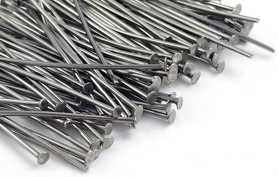 Office Product 100pc Stainless Steel Head Pins 30mm 22 Gauge Jewelry Findings