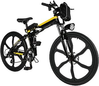 Amazon.com : Kemanner 26 inch Electric Mountain Bike 21