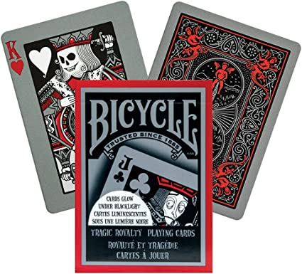 Amazon.com: Bicycle Tragic Royalty Playing Cards: Sports & Outdoors