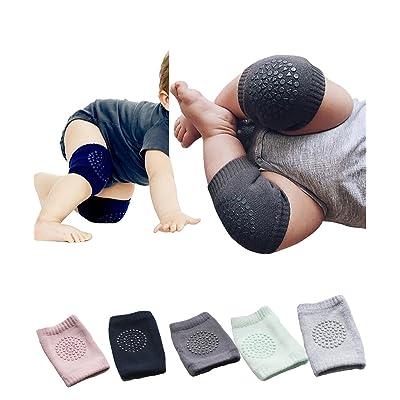 Abalaco Unisex Baby Toddlers Kneepads Elastic Knee Elbow Pads Crawling Legging Socks