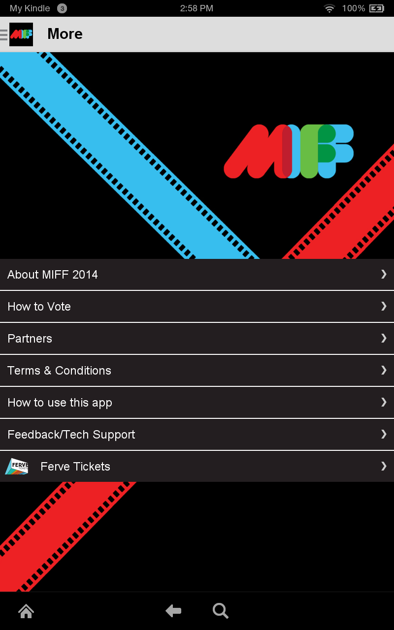Amazon com: Melbourne Film Festival 2014: Appstore for Android