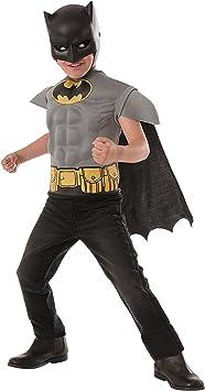 Kit disfraz de Batman DC Comics musculoso para niño - 3-4 años ...