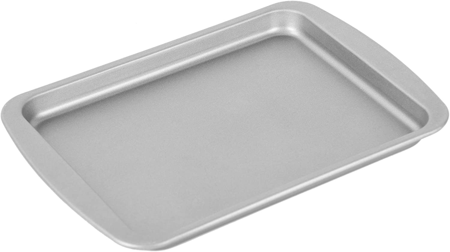 G & S Metal Products Company HG56 OvenStuff Non-Stick Toaster Oven Cookie Pan, 8.5 inches by 6.5 inches, Gray,Small