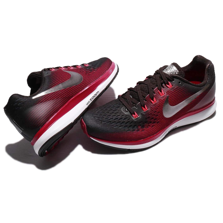 3503720d7a4b Nike Women s Air Zoom Pegasus 34 Running Shoe (Gem) Shadow Brown Metallic  Pewter Rush Maroon Size 9.5 M US  Amazon.in  Shoes   Handbags