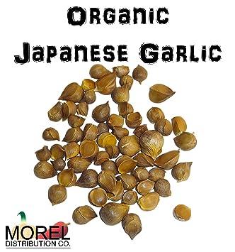 Amazoncom Organic Japanese Garlic Ajo Japones Organico Bag Of 30