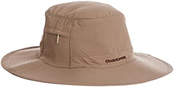 e0ae8af3b17 Craghoppers Men s Nosilife Outback Hat Insect Repellent Accessories -  Pebble