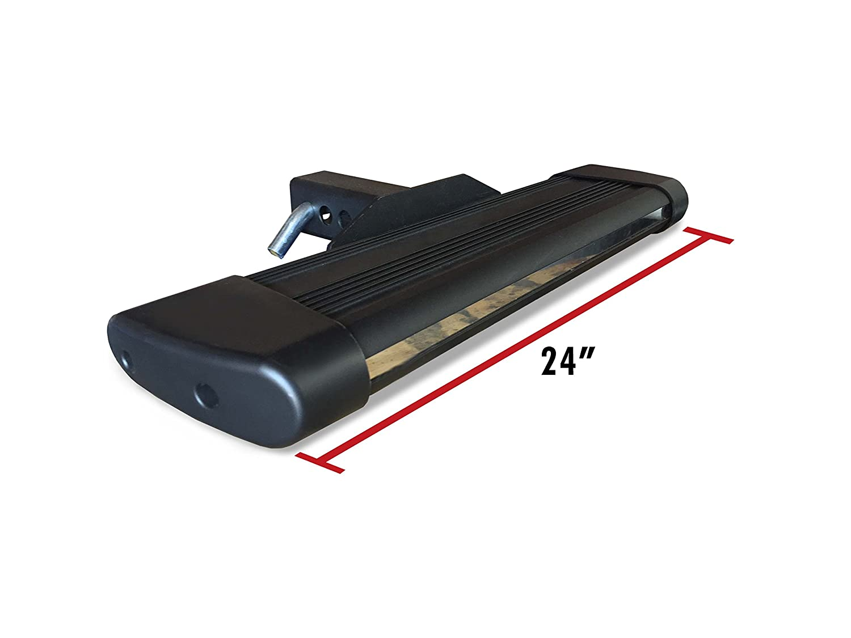 Broadfeet Heavy Duty R66 Black Hitchstep 6 Flat 24 Long for 2 Receiver Broadfeet Motorsport Equipment 5559004083