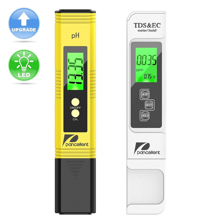 Medidor Digital de Calidad de Agua EC, PH, Solidos y Temp.