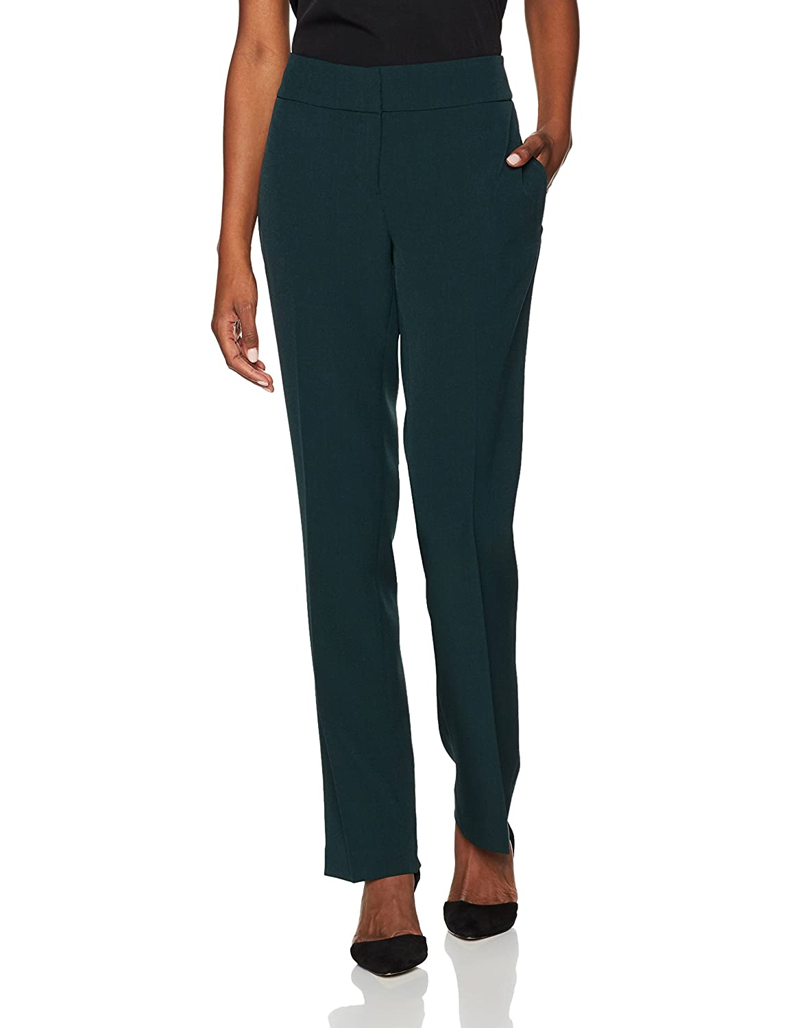 Kasper Women's Stretch Crepe Slim Pant Kasper Women's Suits 10579102-169