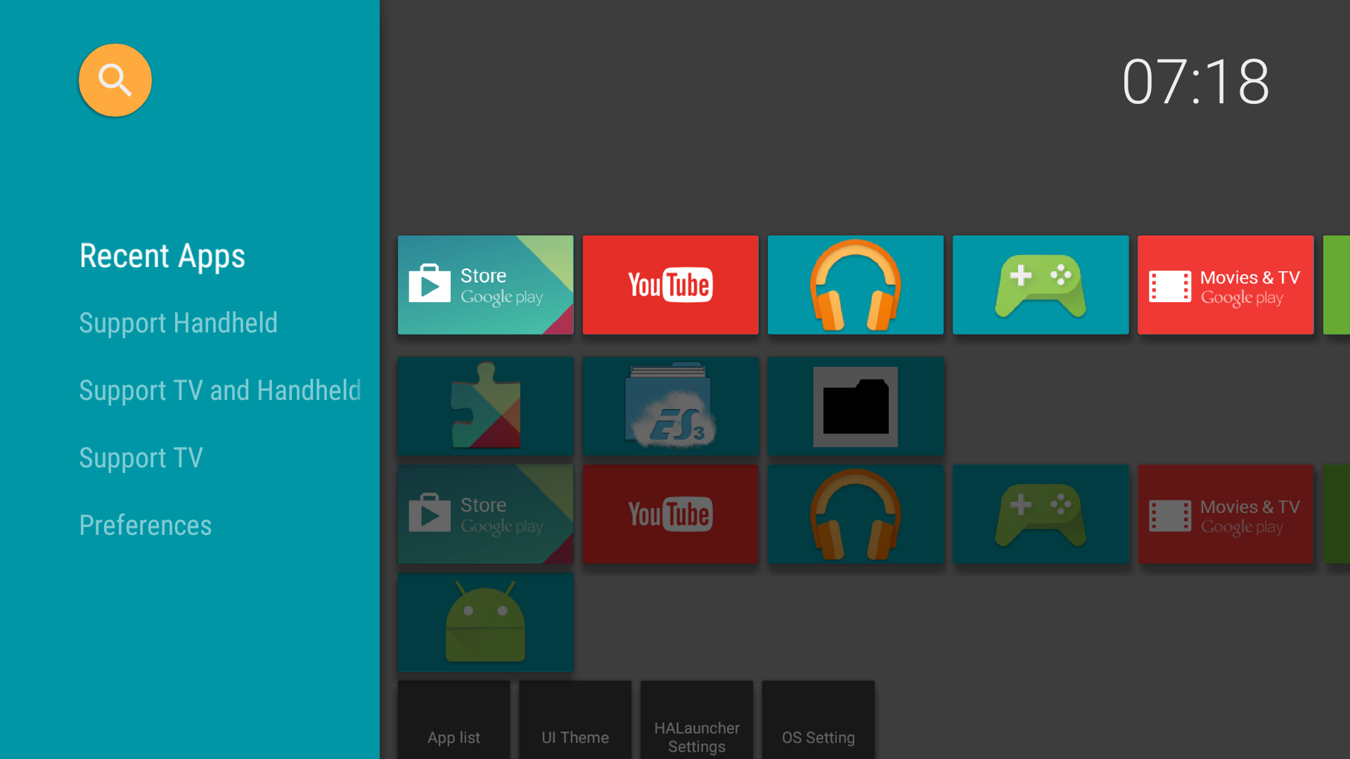 Halauncher Fire Tv Android Tv Appstore For Android
