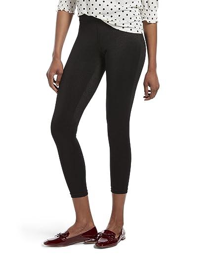 70218da42f210 HUE Womens Shimmer Ponte Leggings at Amazon Women's Clothing store: